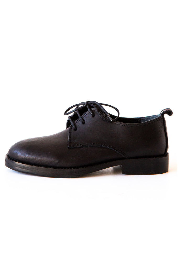 Replika Black Oxford Man Shoe