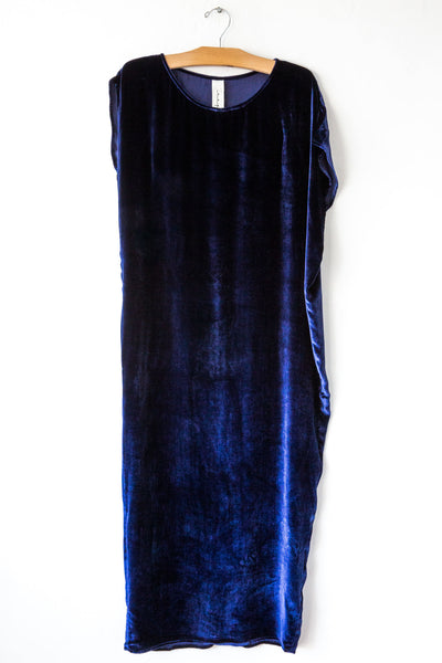 Replika Blue N10 Velvet Dress