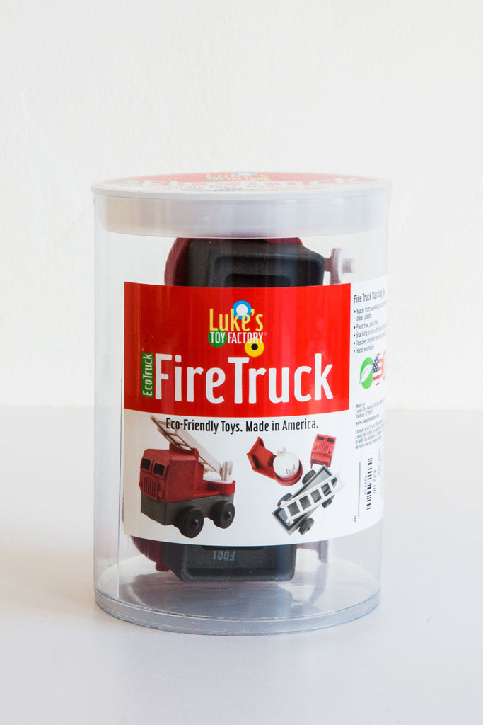 lukes toy factory fire truck