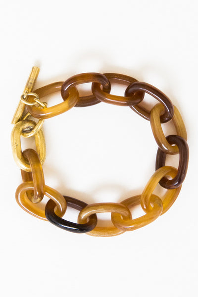 parts of four xsmall organic chain bracelet