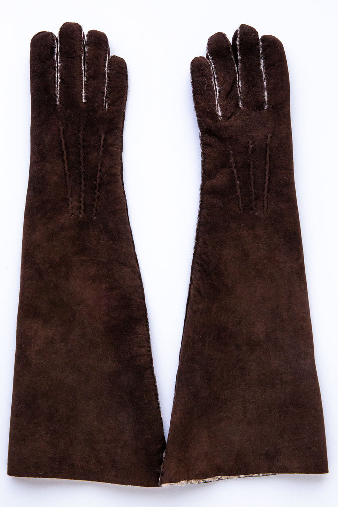 Maison Fabre Santos Long Gloves