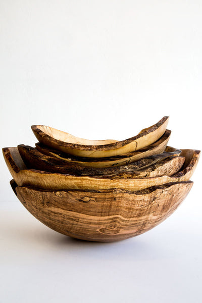 peterman spalted maple oval bowl