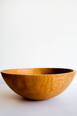 peterman cherry wood bowls