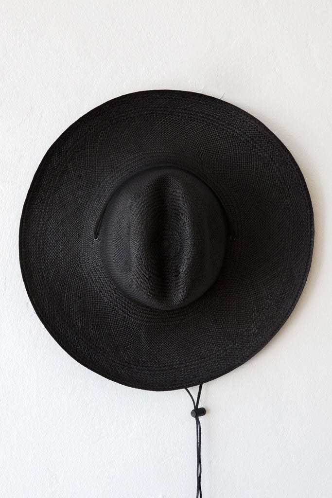 Brookes Boswell Black Boro Hat