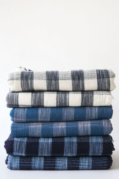 khadi & co plaid throw