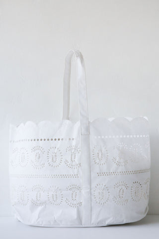 khadi & co large lace tote