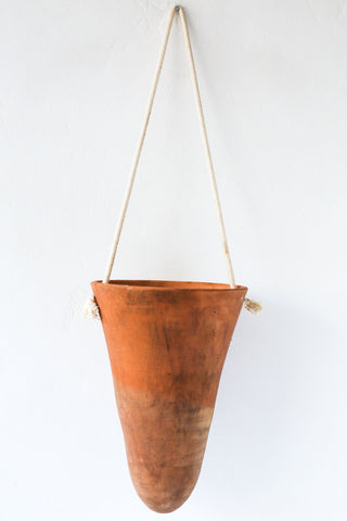 honore brick large hanging pot