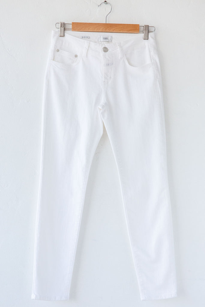 Closed White/Beige Baker Jean