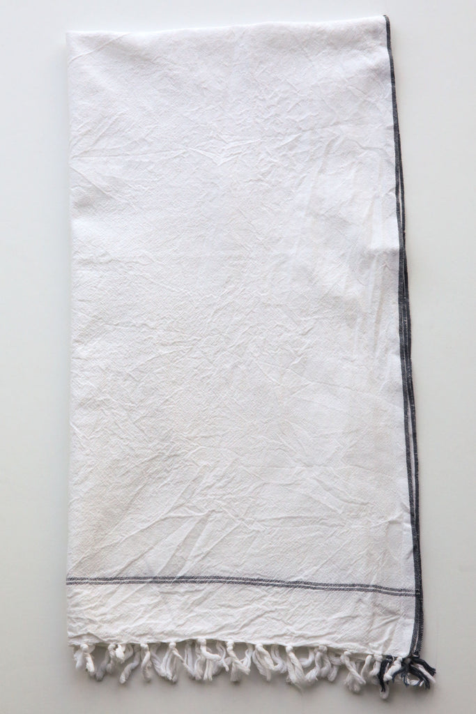 khadi & co white towel