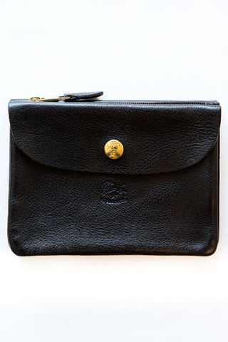 il bisonte c0346p black wallet