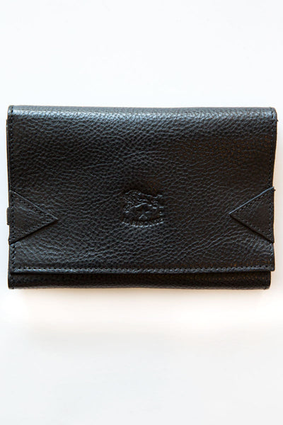 il bisonte navy donatelo wallet