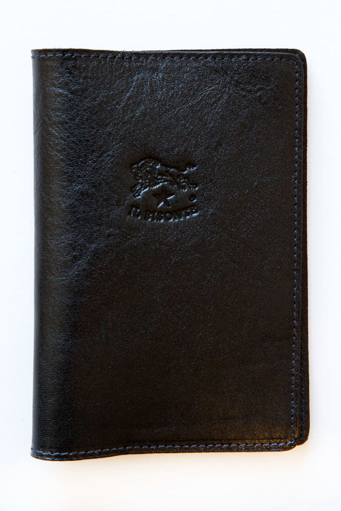 Il Bisonte black franklyn passport holder
