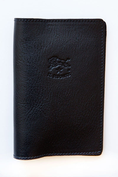 il bisonte navy 137 franklyn passport holder