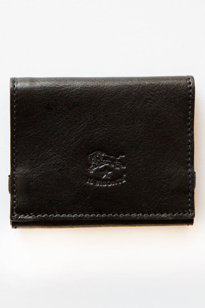 il bisonte black pinocchio wallet
