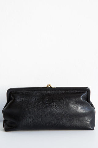 il bisonte black  donna clutch