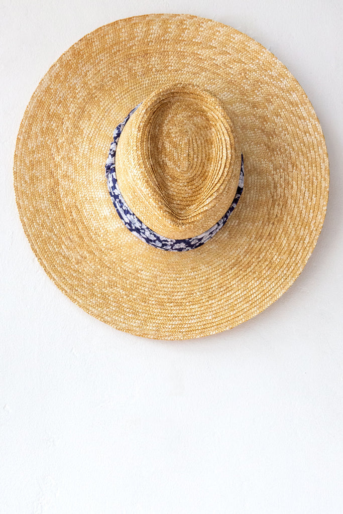 Montegallo Blue Liberty Lady Texan Hat