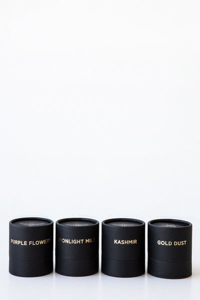 tatine dark, wild + deep votive candle