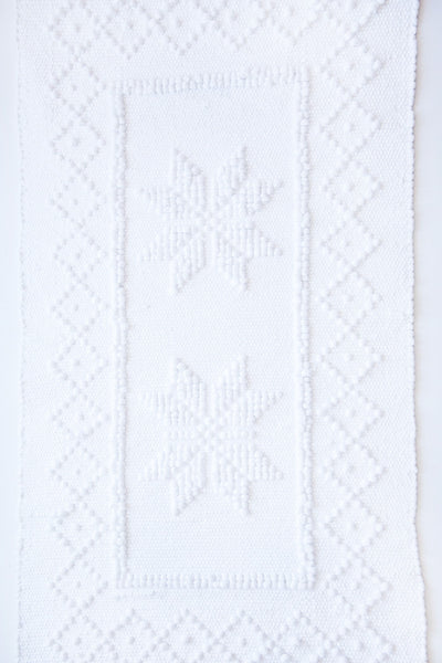 bitters white port bathmat