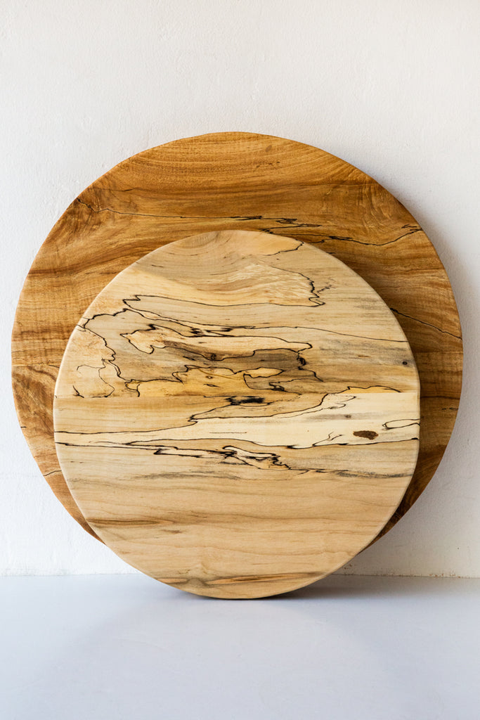 peterman spalted maple lazy susan