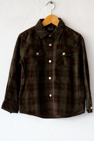 BonBon Brun Plaid Peter Shirt