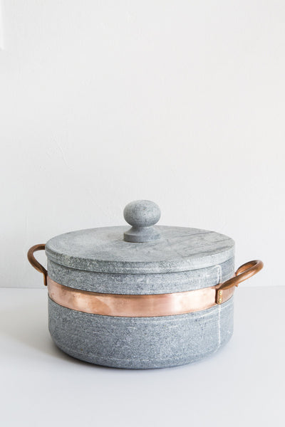 brazillian soapstone pot
