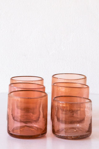 bitters rose mezcalera glass