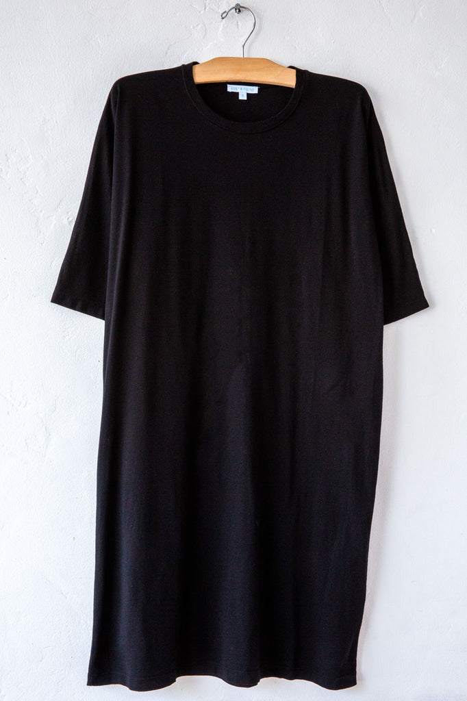 lost & found black street dress