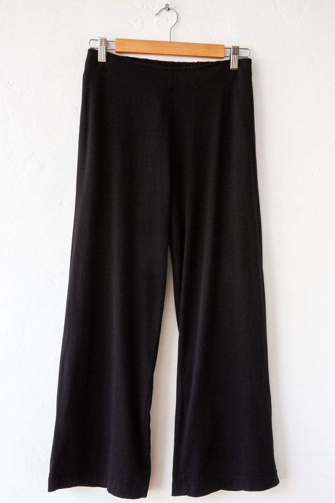 lost & found black wide leg pant