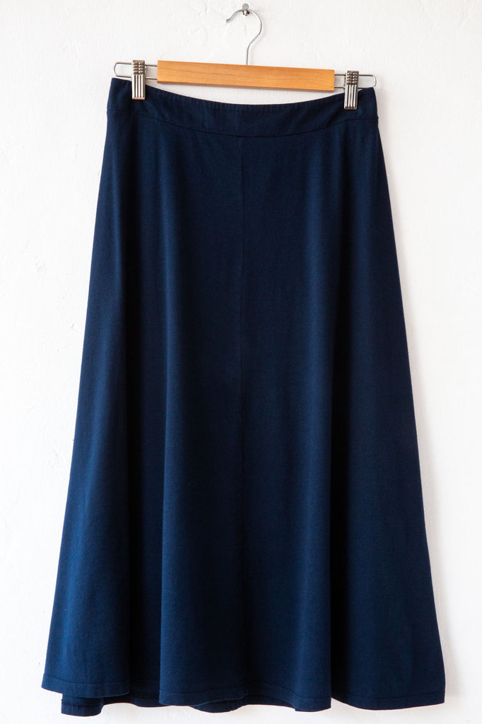 lost & found navy gore skirt