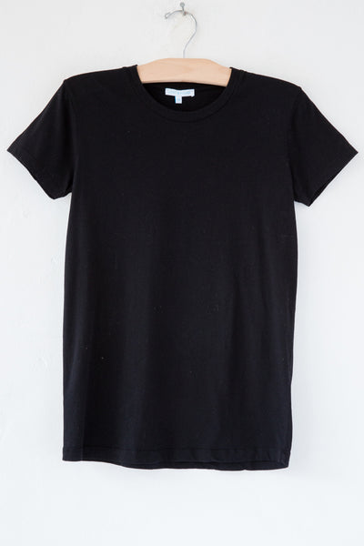 lost & found black short sleeve tee