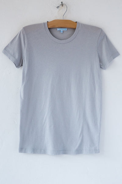 lost & found lt grey short sleeve tee