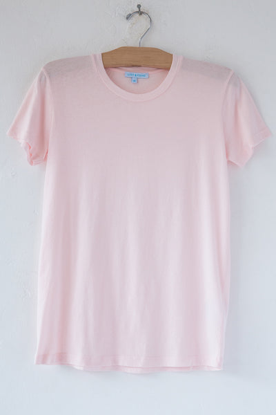 lost & found lt pink short sleeve tee