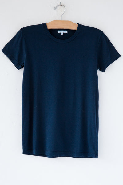 lost & found navy short sleeve tee