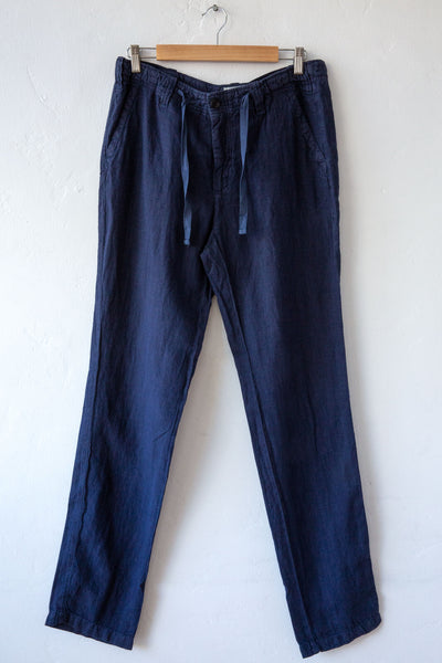 Hartford navy troy pant
