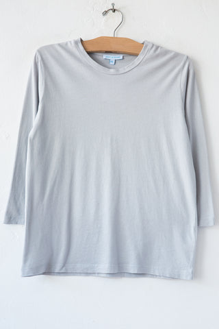 lost & found lt grey 3/4 sleeve tee