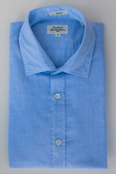 hartford blue wash sammy shirt