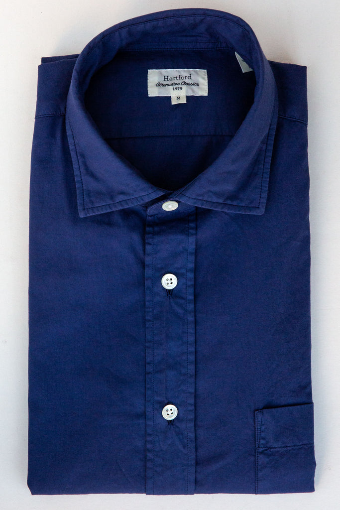 Hartford denim paul pat shirt