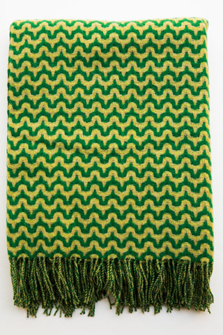 paulette rollo greens wave throw