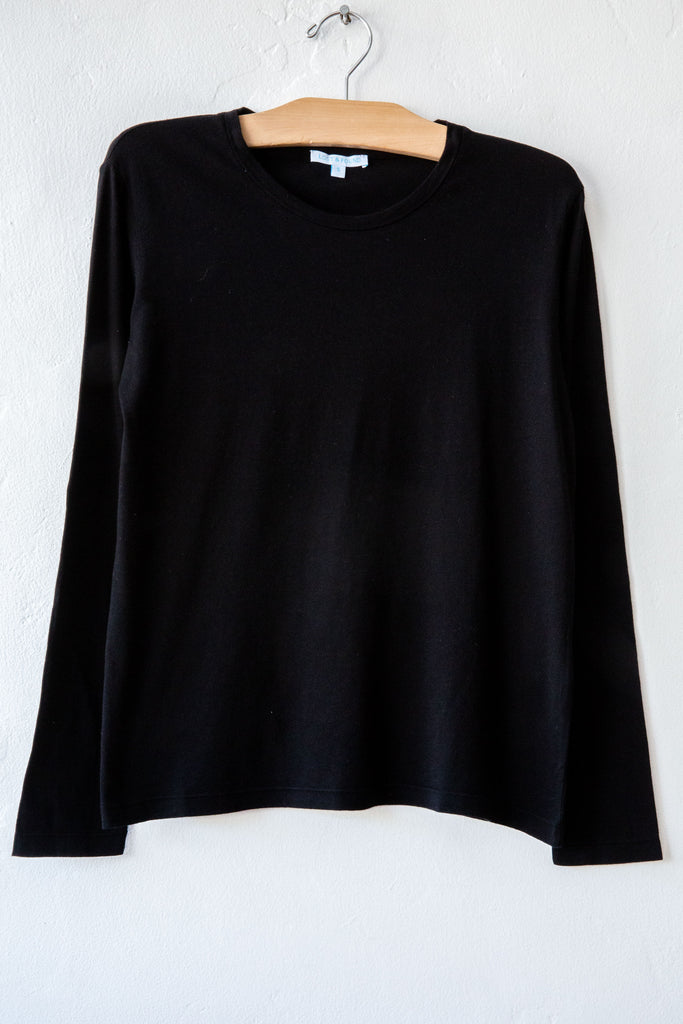 lost & found black long sleeve tee