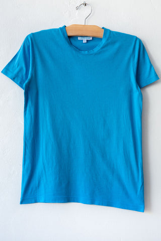 lost & found turq small short sleeve tee