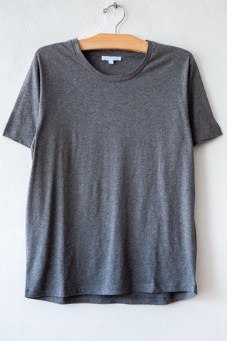 lost & found  heather grey small tee