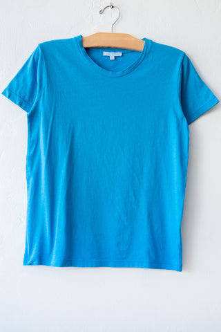 lost & found turq basic short sleeve tee