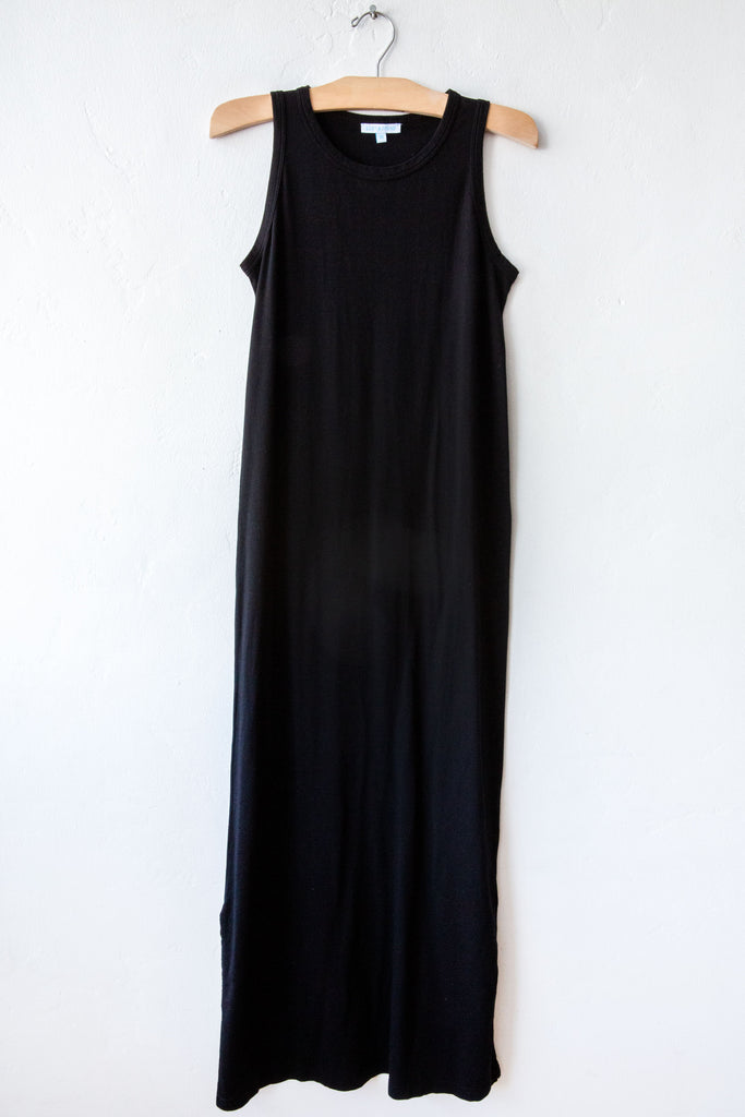 lost & found black long tank dress