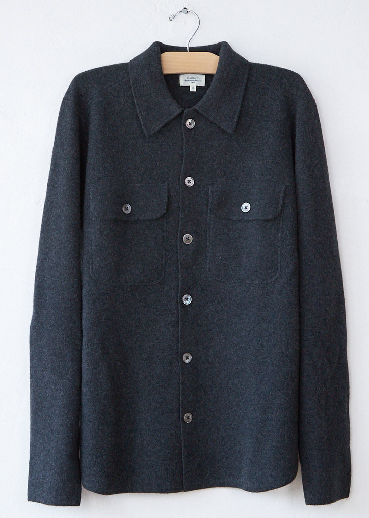 Hartford Black/Charcoal Needle Jacket