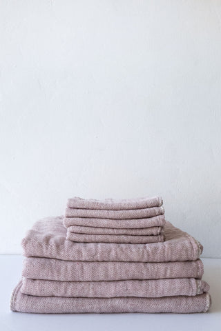 Morihata Smoky Pink Claire Towels