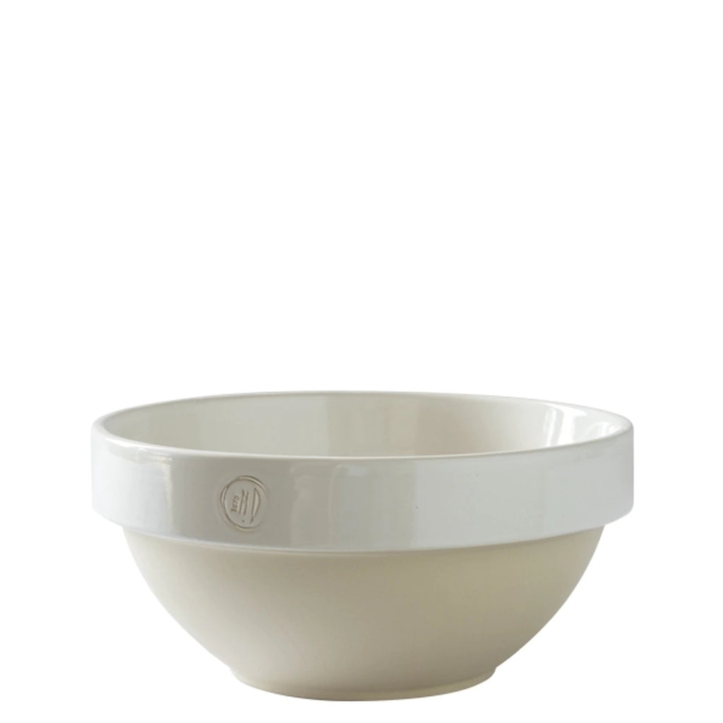 Manufacture de Digoin White Salad Bowl 2.1l