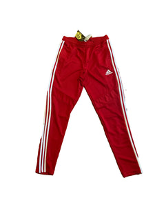 Men's Adidas Red/White Track Pants Size M $35.99
