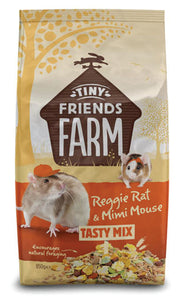 Tiny Friends Farm Reggie Rat Premium Original 850g & 2.5kg