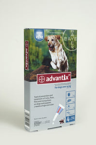 Advantix Extra Large Dogs 25kg+