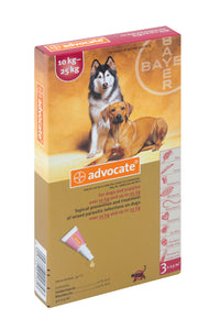 Advocate Large Dogs 10-25kg